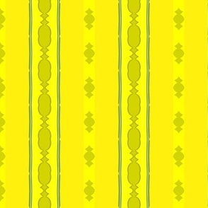 Yellow Formal Stripe