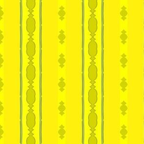 Yellow Formal Stripe