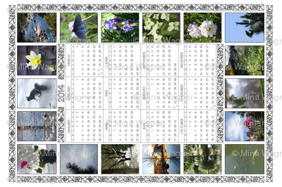 2014 Teatowel Photo Calendar