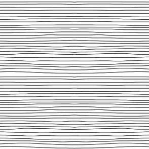 black on white horizontal stripes