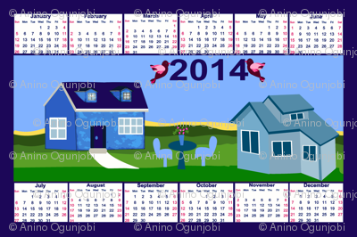 my house to yours 2014_TEA_TOWEL_CALENDER