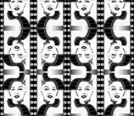 MARILYN_FILM fabric by mywhim on Spoonflower - custom fabric