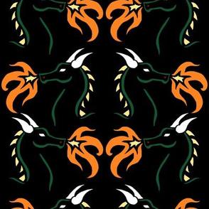 Dragon Stencil 2