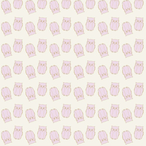 Owl Baby Pink