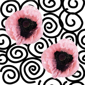 Pink Poppy and Loops