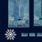 WinterBarnOwlCheaterQuiltPanel4
