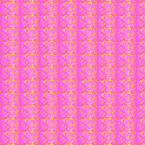 Pink yellow abstract