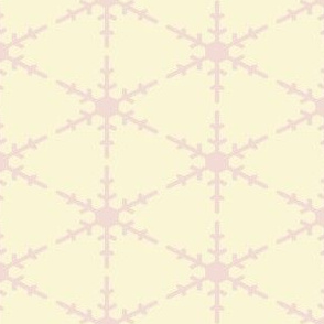 Snowflake Stencil in Pink