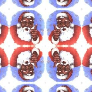Black Santa Be Good