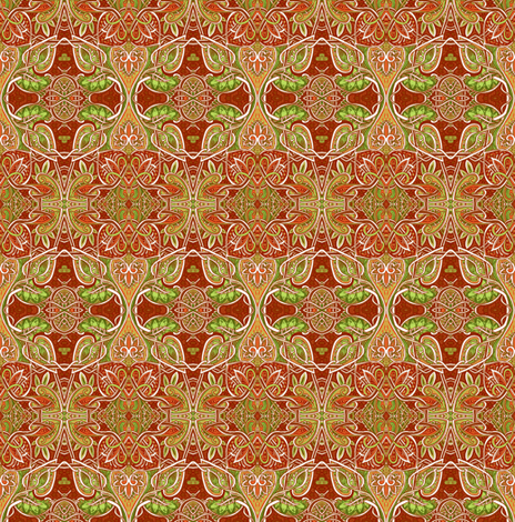 When Autumn Returns fabric by edsel2084 on Spoonflower - custom fabric