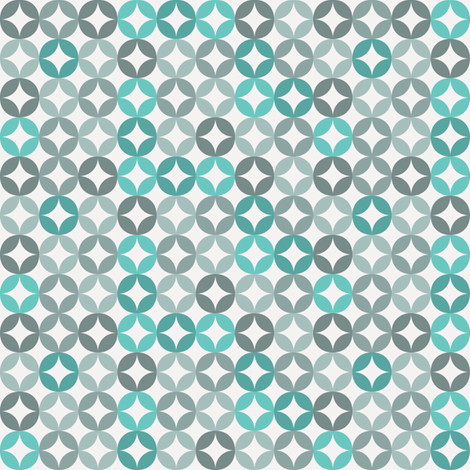 Blue diamond fabric by ebygomm on Spoonflower - custom fabric