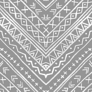 Chalk Tribal Chevron (gray)