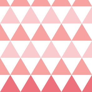 Ombre Triangle (pink/coral)