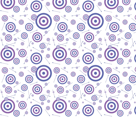 Clint and Kate's Targets fabric by obliquered on Spoonflower - custom fabric