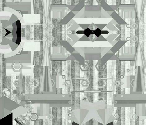 50 Shades of Deco Gray fabric by charldia on Spoonflower - custom fabric