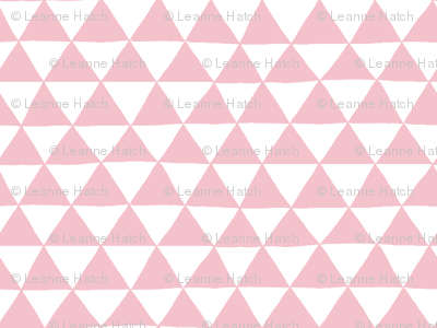 Triangle Geo (pink)