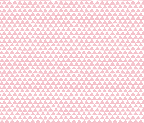Triangle Geo (pink) fabric by leanne on Spoonflower - custom fabric