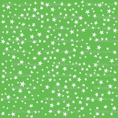 Scattered Stars (Green)