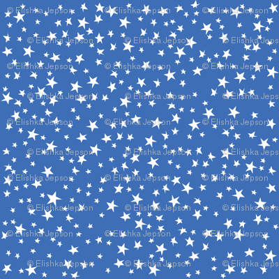Scattered Stars (Blue)