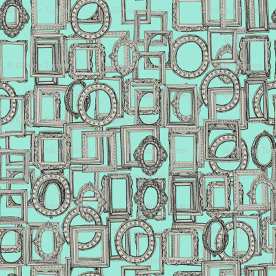 picture frames aplenty bone mint