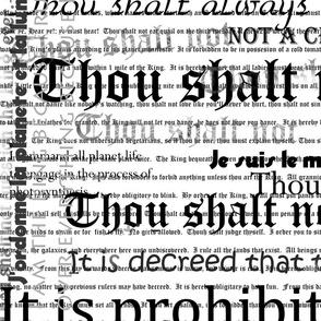 King's Decrees 1