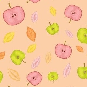 Apples Modern Pattern