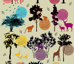 2014 Tea Towel