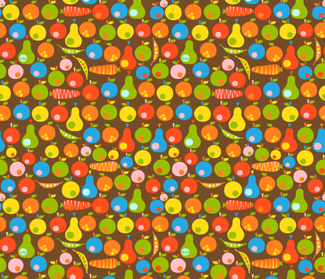 Scandinavian Produce fabric by christinewitte on Spoonflower - custom fabric