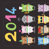 2014 Cat-lendar