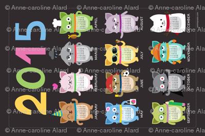 2015 Cat-lendar