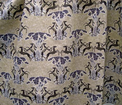 Formal gazelles on fawn