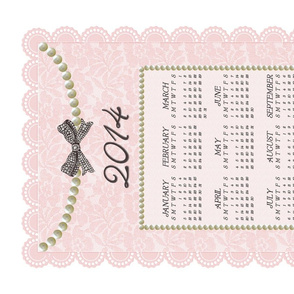 2014 Sweet Lace & Pearls Calendar