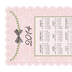 2014 Sweet Lace & Pearls Calendar