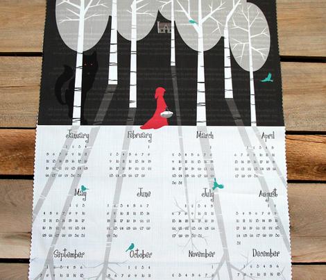 Julie's Fairytale Calendar