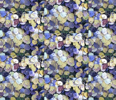 aspen leaves fabric by idaho13 on Spoonflower - custom fabric