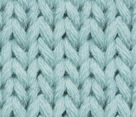 Brooklyn Craft Company's Knitted Wallpaper fabric by brettbara on Spoonflower - custom fabric