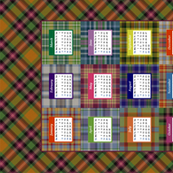 Highland fling! 2014 calendar