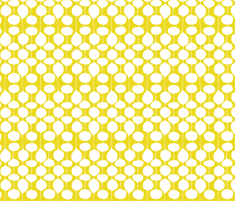 Holiday Bobbles - Festive & Frost Green fabric by heatherdutton on Spoonflower - custom fabric