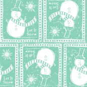 Let It Snow - Festive & Remix Teal