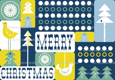 Christmas Collage - Frost Midnight
