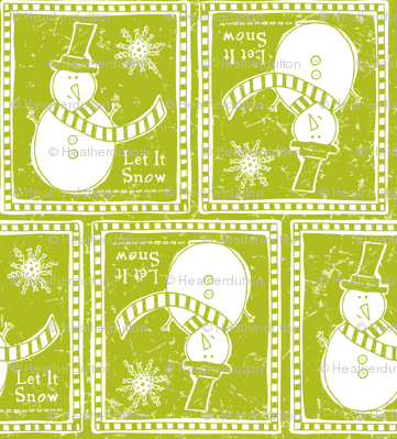 Let It Snow - Remix Green