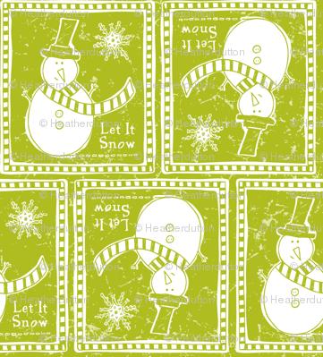 Let It Snow - Remix Green