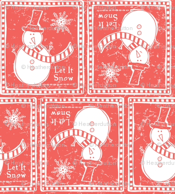 Let It Snow - Remix Red