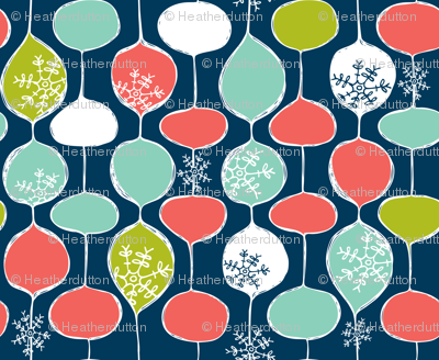 Snowflake Holiday Bobbles - Remix