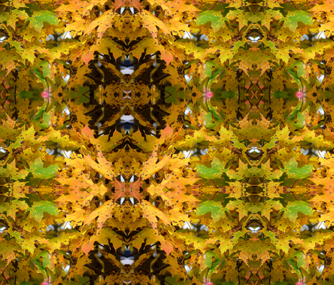 Autumn Leaves I fabric by dkdemott on Spoonflower - custom fabric
