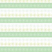 Mint Snowflakes
