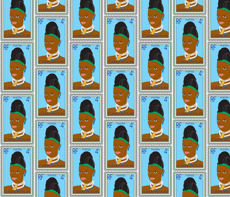 Sala_Faruq_-_Cameroun_Belle fabric by salafaruq on Spoonflower - custom fabric