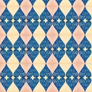 Blue n' Blush Valentique