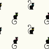 chat noir - colored bowties