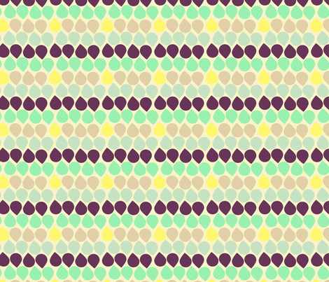 Buttermilk Sky 300 fabric by lisabarbero on Spoonflower - custom fabric